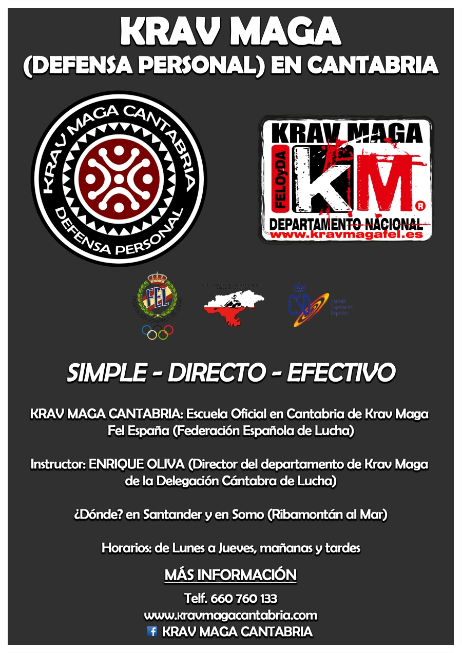 cartel krav maga 2018 2019 final