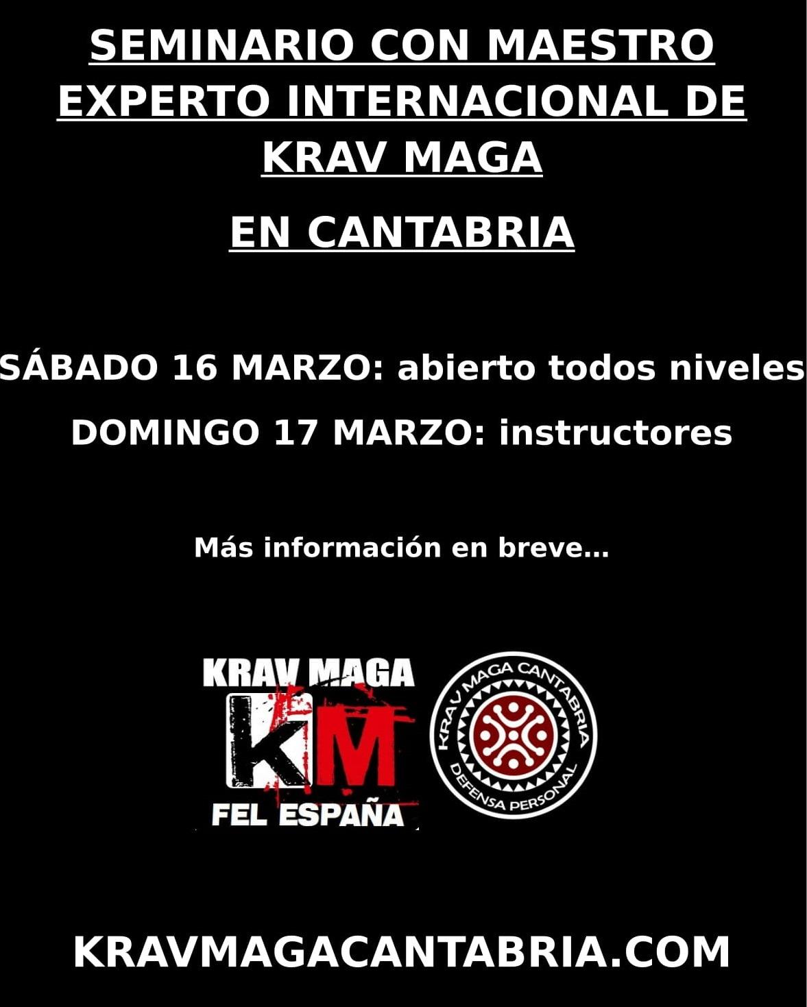 SEMINARIO INTERNACIONAL DE KRAV MAGA 1.0-1