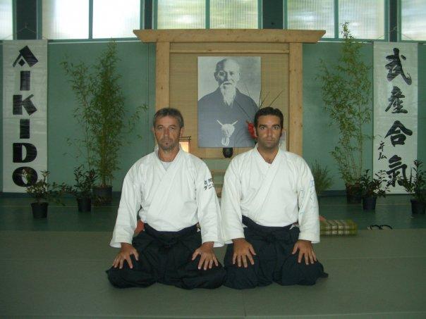 aikido iwama daniel toutain y enrique oliva