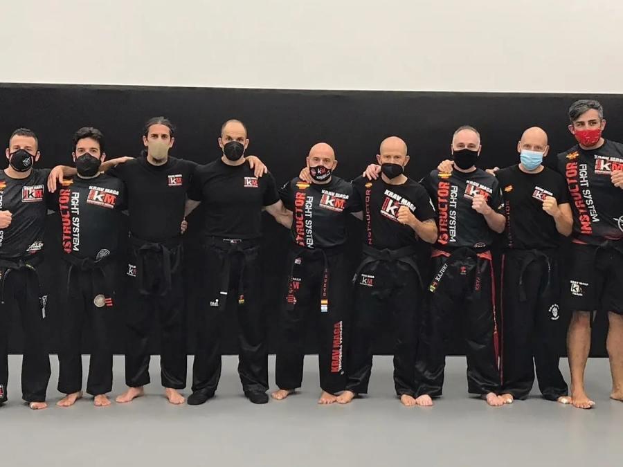 instructores krav maga fel en guadalajara