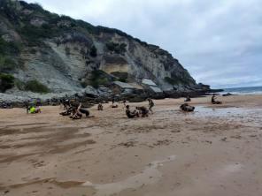 escuela krav maga cantabria playa santander mataleñas agosto 2021