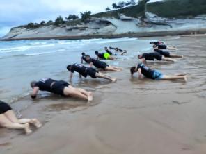 entrenamiento en playa de santander krav maga cantabria enrique oliva