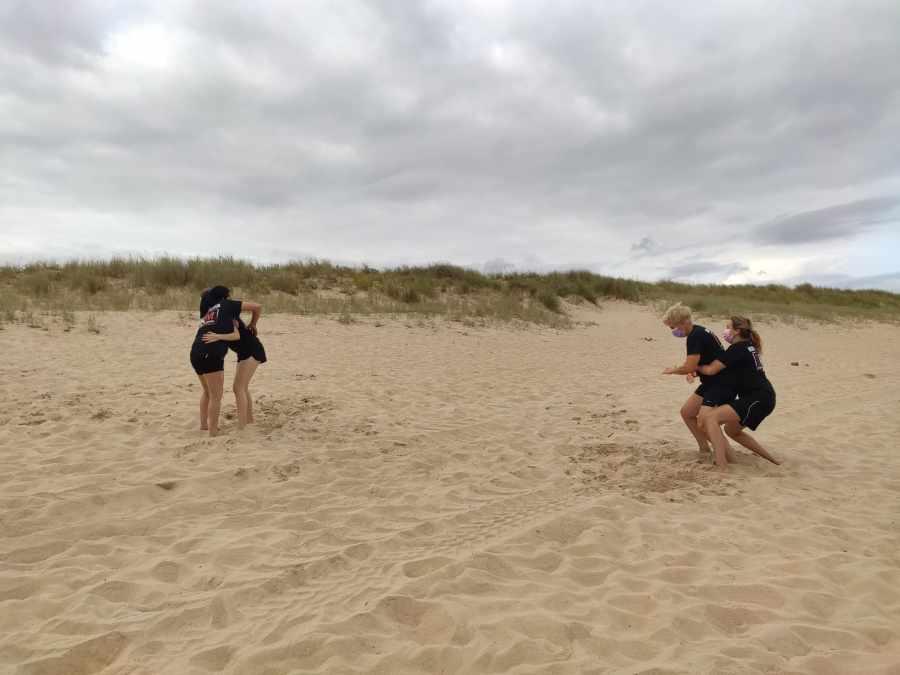 grappling chicas krav maga playa santander